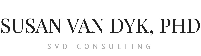 Susan van Dyk PhD